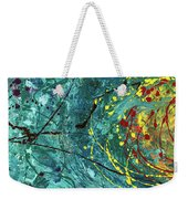 Tangled Bloom Weekender Tote Bag