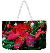 Tangled Flame Weekender Tote Bag