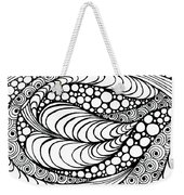 Tangled Leaf  Weekender Tote Bag