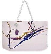 Tangled Ribbons Weekender Tote Bag