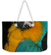 Tango, The Blue And Gold Macaw Weekender Tote Bag
