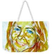 Tania Helft, Portrait Weekender Tote Bag