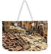 Tanneries Of Fes Morroco Weekender Tote Bag