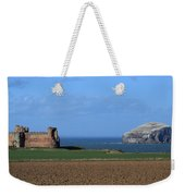 Tantallon Castle And The Bass Rock Weekender Tote Bag