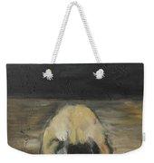 Tantric Fetal Pose Weekender Tote Bag