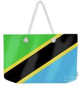 Tanzania Flag Weekender Tote Bag