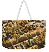 Tanzanian Courtyard Homes Are Clustered Weekender Tote Bag