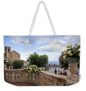 Taormina Square Weekender Tote Bag