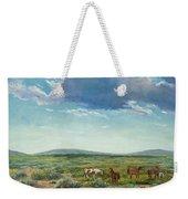 Taos Mustangs Weekender Tote Bag