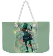 Tap Dancer 1 - Green Weekender Tote Bag