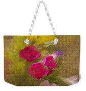 Tapestry Bouquet Weekender Tote Bag