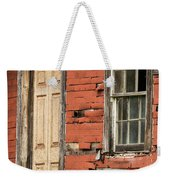 Tar-paper House Door And Window Weekender Tote Bag