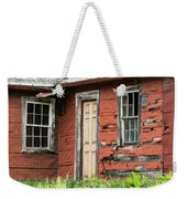 Tar-paper House Door And Windows Weekender Tote Bag