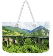Tara River, Montenegro Weekender Tote Bag