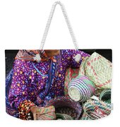Tarahumara Basket Vendor Weekender Tote Bag