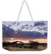 Tarangire Sunset Weekender Tote Bag
