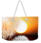 Taraxacum Sunset Weekender Tote Bag