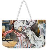 Tariff Cartoon, 1896 Weekender Tote Bag