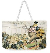 Tariff Lobbyist, 1897 Weekender Tote Bag
