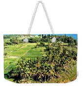 Taro Fields Weekender Tote Bag