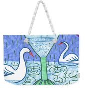 Tarot Of The Younger Self Ace Of Cups Weekender Tote Bag
