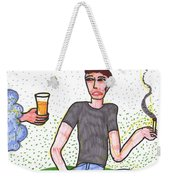 Tarot Of The Younger Self Four Of Cups Weekender Tote Bag