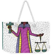 Tarot Of The Younger Self Justice Weekender Tote Bag