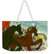 Tarot Of The Younger Self The Chariot Weekender Tote Bag