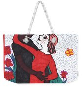 Tarot Of The Younger Self The Lovers Weekender Tote Bag
