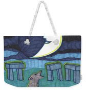 Tarot Of The Younger Self The Moon Weekender Tote Bag