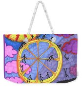 Tarot Of The Younger Self The Wheel Weekender Tote Bag