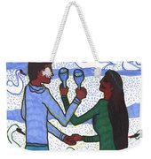 Tarot Of The Younger Self Two Of Cups Weekender Tote Bag