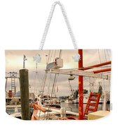 Tarpon Springs Harbor Weekender Tote Bag