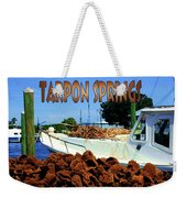Tarpon Springs Postcard Weekender Tote Bag