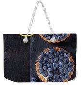 Tartlets With Blueberries Weekender Tote Bag