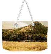 Tasmania West Coast Mountain Range Weekender Tote Bag