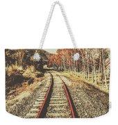 Tasmanian Country Tracks Weekender Tote Bag