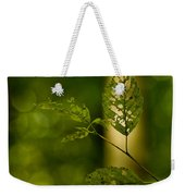 Tattered Leaves Weekender Tote Bag