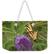 Tattered Tiger Swallowtail Butterfly          August         Indiana Weekender Tote Bag