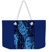 Tatto Lady With The Blues Weekender Tote Bag