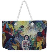 Tattooed Man  Weekender Tote Bag