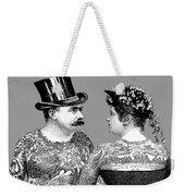 Tattooed Victorian Lovers Weekender Tote Bag