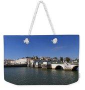 Tavira Ponte Romana And The River Weekender Tote Bag