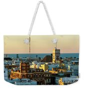 Tavira Tower And Post Office From West Tower Cadiz Spain Weekender Tote Bag