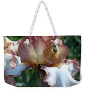 Tawny Iris Photograph Weekender Tote Bag