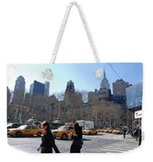 Taxi Anyone Weekender Tote Bag