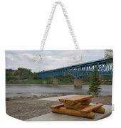 Taylor Peace River Bridge Weekender Tote Bag