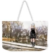 Taylor Swift Watercolor Weekender Tote Bag