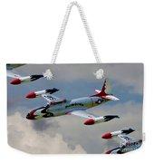 Tbirds Lockheed T-33 Shooting Star Weekender Tote Bag