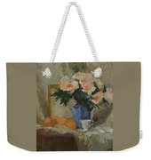Tea And Roses Weekender Tote Bag